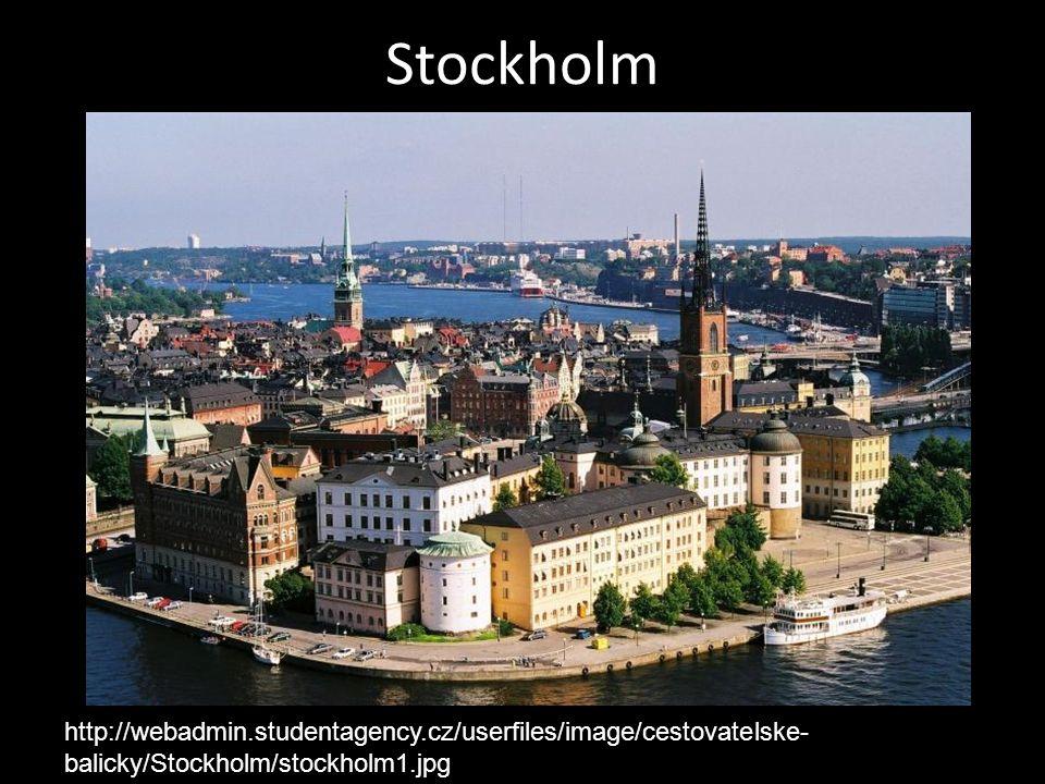Stockholm http://webadmin.studentagency.cz/userfiles/image/cestovatelske- balicky/Stockholm/stockholm1.jpg