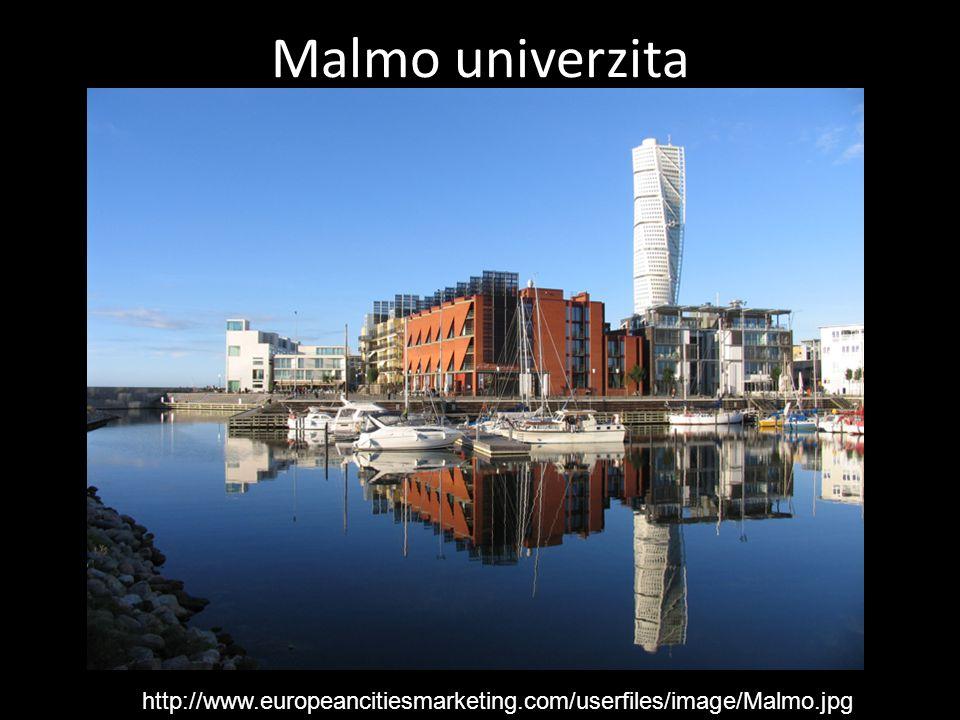 Malmo univerzita http://www.europeancitiesmarketing.com/userfiles/image/Malmo.jpg