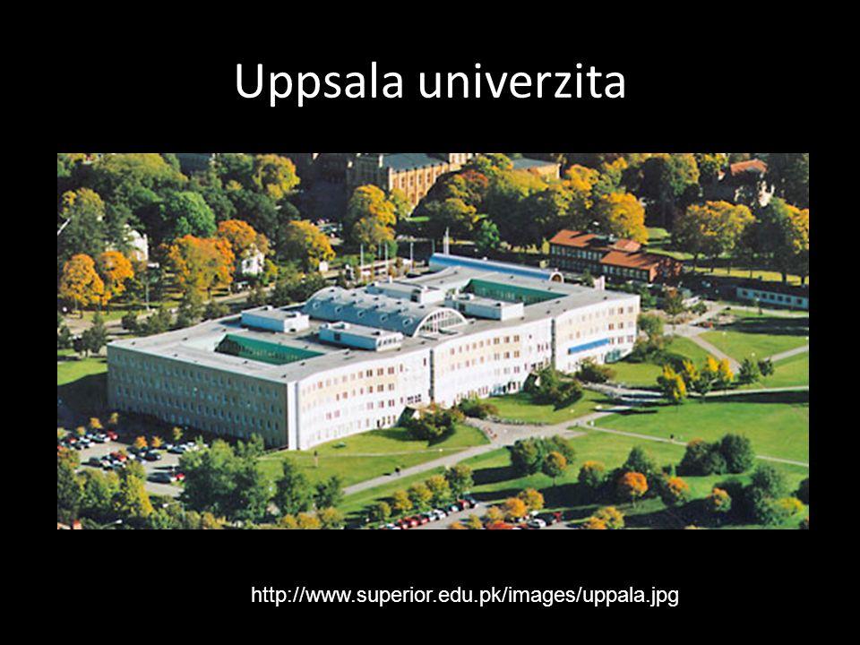 Uppsala univerzita http://www.superior.edu.pk/images/uppala.jpg