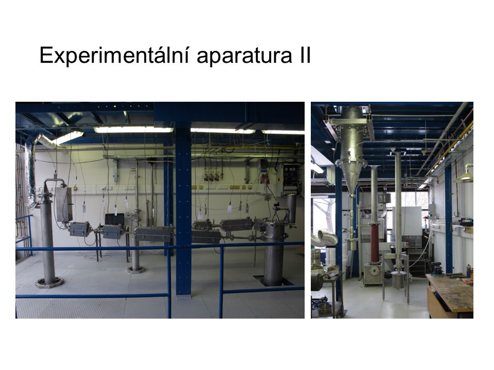Experimentální aparatura II