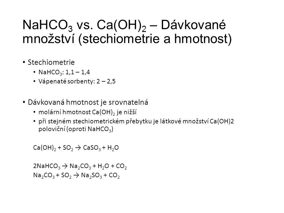 NaHCO 3 vs.