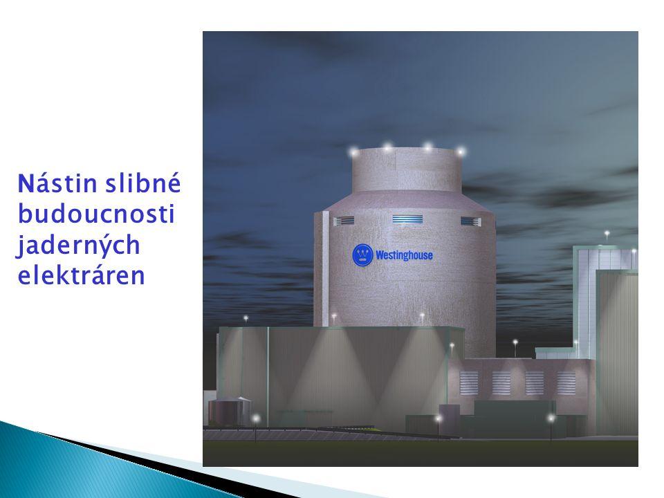 N ástin slibné budoucnosti jaderných elektráren
