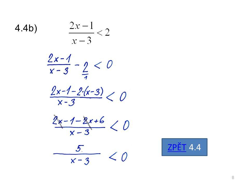 4.4b) Řešíme 9 ZPĚT 4.4