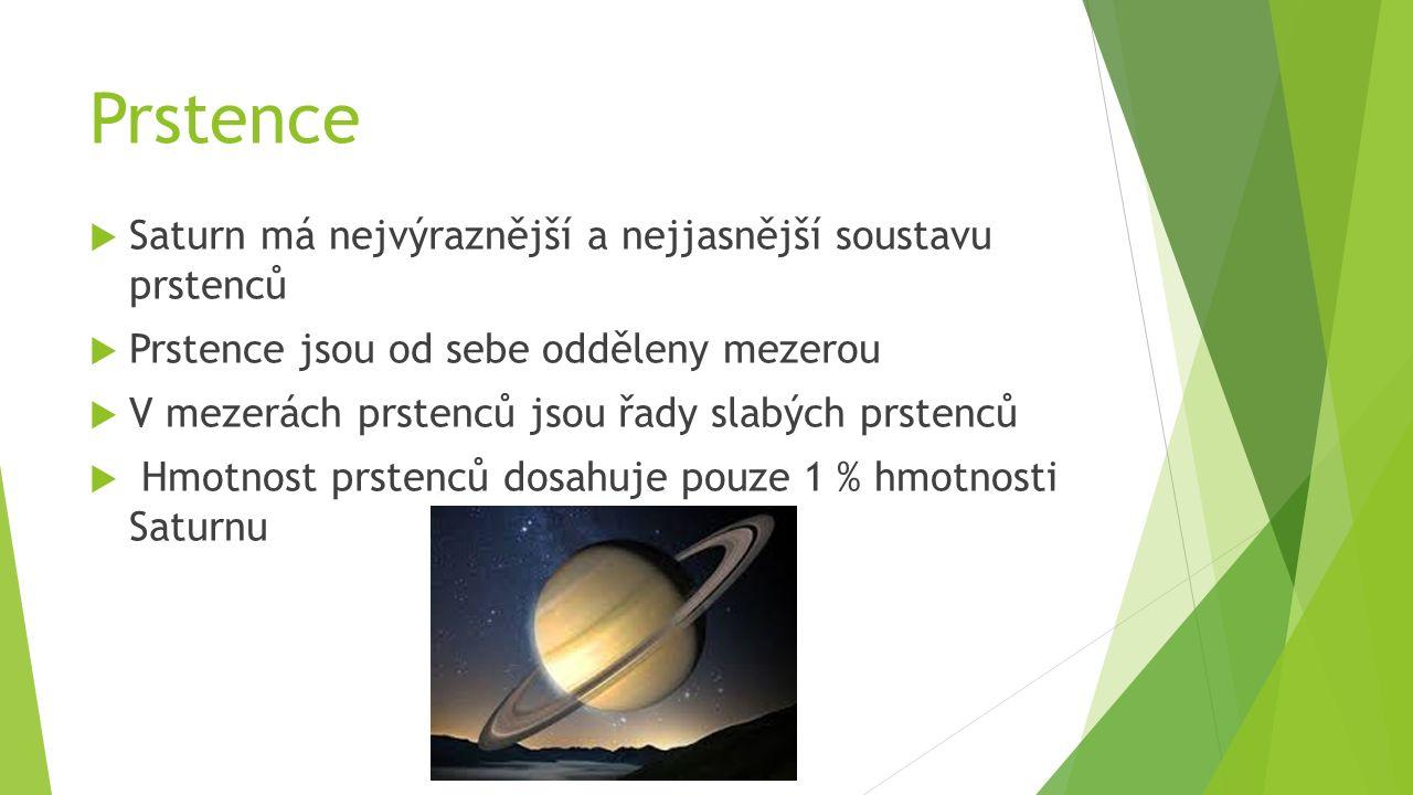 Historie pozorování  Saturn je známí už od pravěku  Saturn je snadno pozorovatelný pouhým okem  V roce 1789 změřil William Herschel zploštění planety  Historicky doložené pozorování je z Mezopotámie