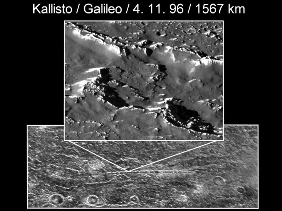Kallisto – řetězec kráterů