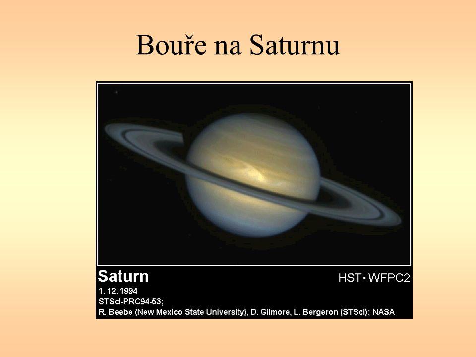 Bouře na Saturnu
