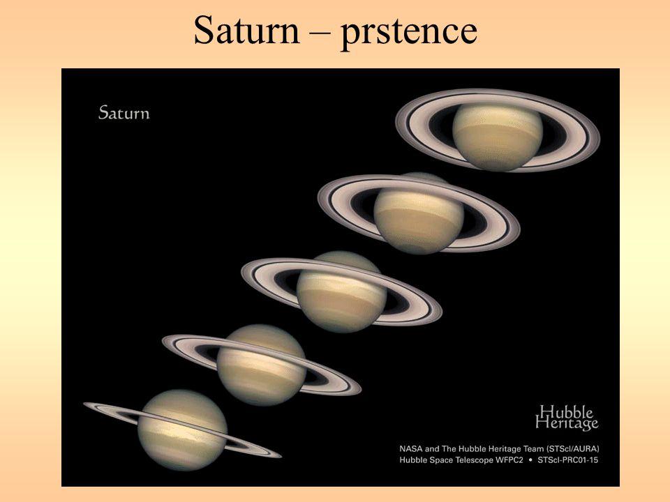 Saturn – prstence