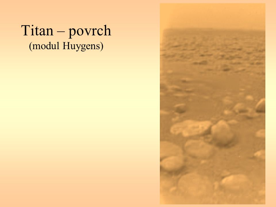 Titan – povrch (modul Huygens)
