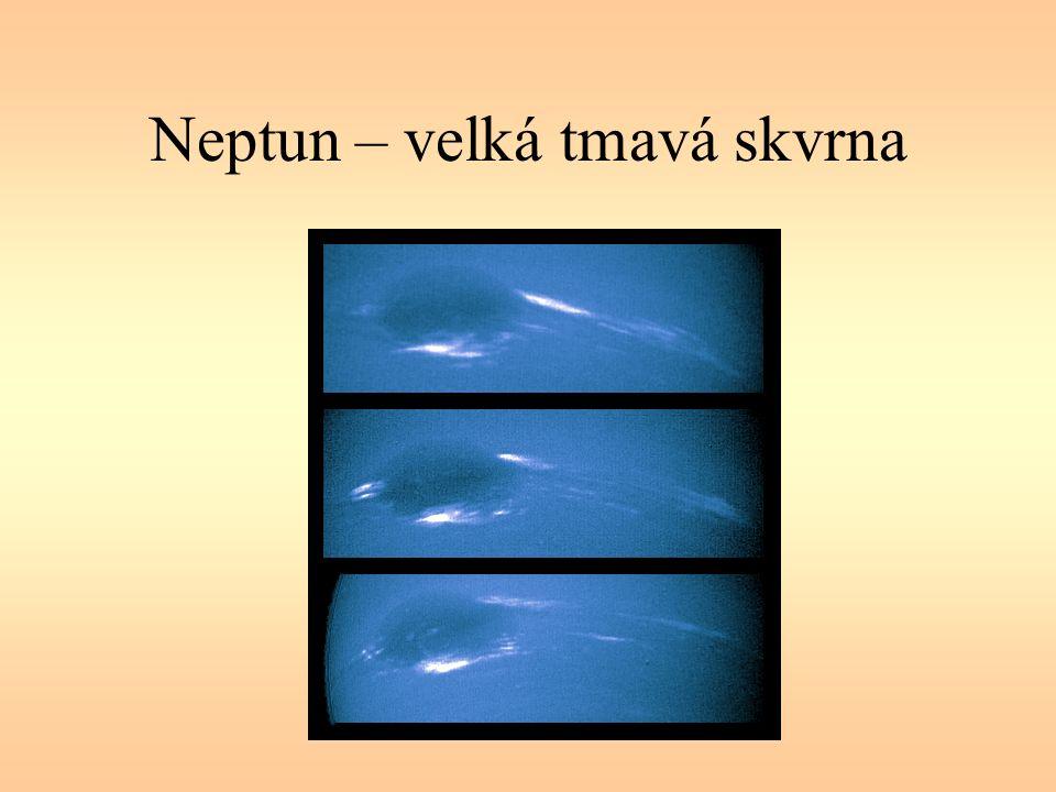 Neptun – velká tmavá skvrna