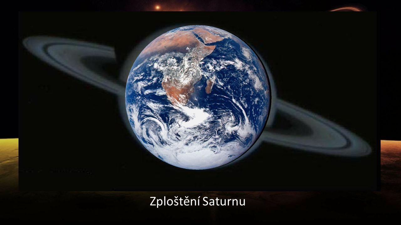 Zploštění Saturnu