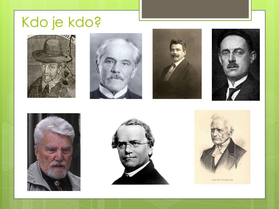 Kdo je kdo?