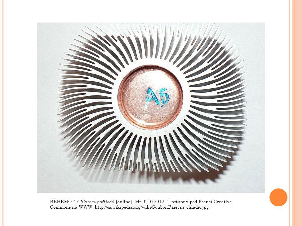 BEHEMOT. Chlazení počítačů [online]. [cit. 6.10.2012].