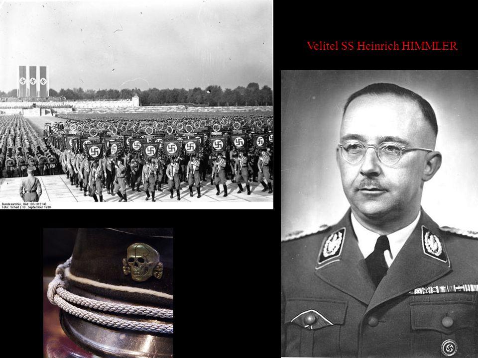 Velitel SS Heinrich HIMMLER