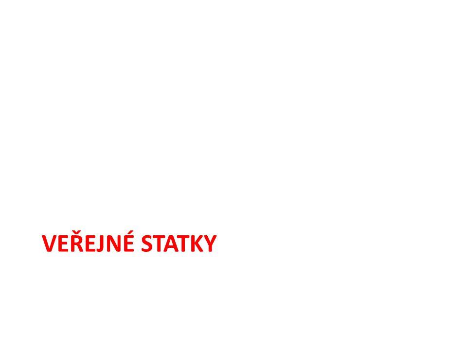 STATKY = Σ zboží a služeb produkovaných (poskytovaných) za účelem uspokojování určitých potřeb.