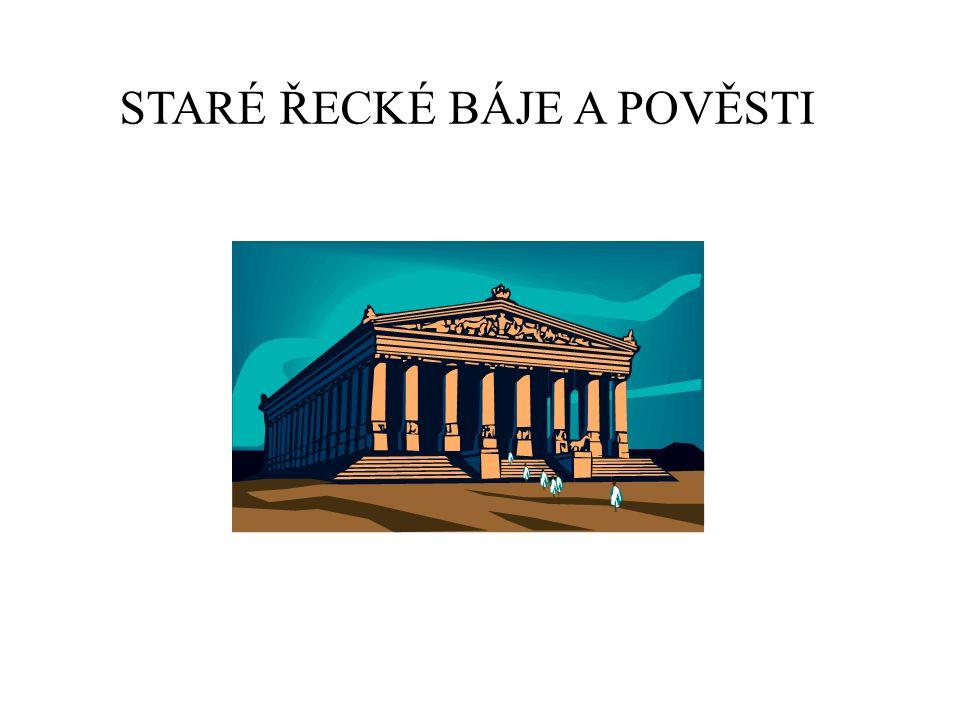 Staré řecké báje a pověsti v knize Eduarda Petišky Obsah knihy: Kniha je zpracováním mýtů starého Řecka.