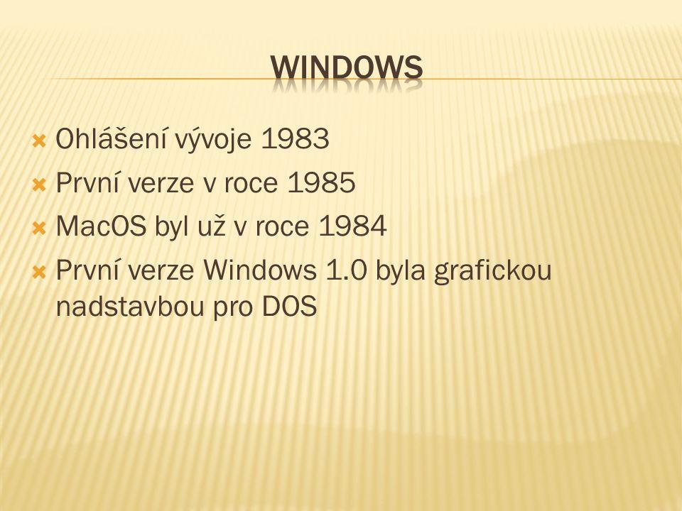  1992 - Verze 3.1 pro pracovní skupiny  Integrovaná podpora peer-to-peer sítě  1993 - Verze 3.11  Větší rozšíření  Snadné sdílení souborů v síti  Obsahovaly i první Microsoft Mail  jeden běžný počítač se mohl chovat jako poštovní server a ostatní si na něm četli a posílali poštu