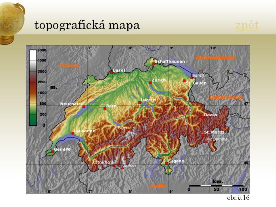 topografická mapa zpětzpět obr.č.16