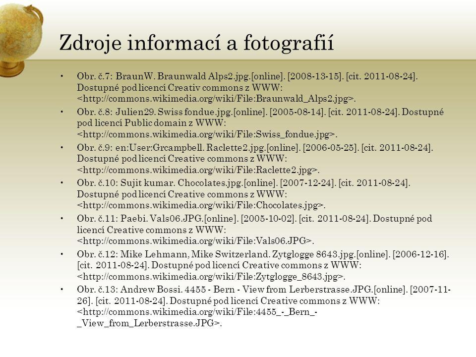 Zdroje informací a fotografií Obr. č.7: BraunW. Braunwald Alps2.jpg.[online].