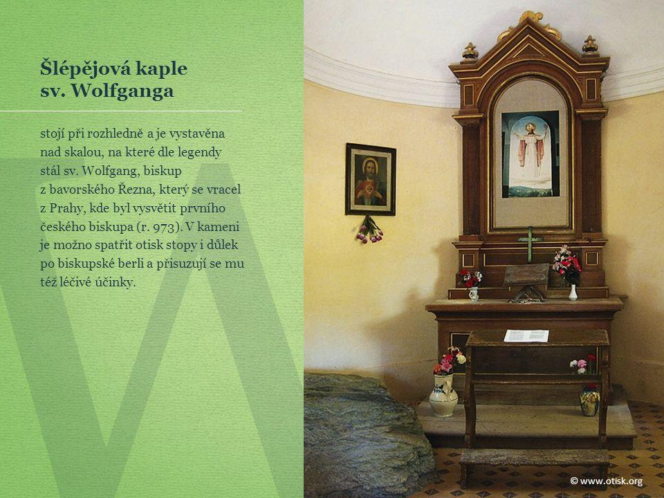 W Šlépějová kaple sv.
