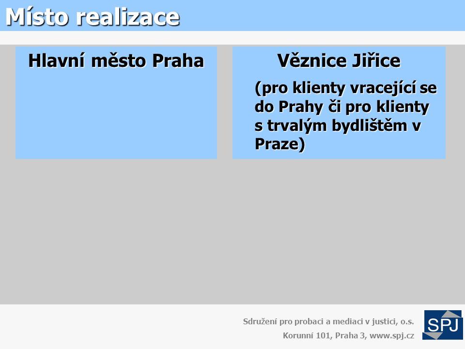 Místo realizace Sdružení pro probaci a mediaci v justici, o.s.