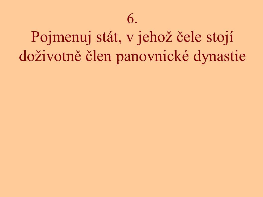 7. Pojmenuj sněm, či shromáždění, do kterého volí své zástupce občané příslušného státu