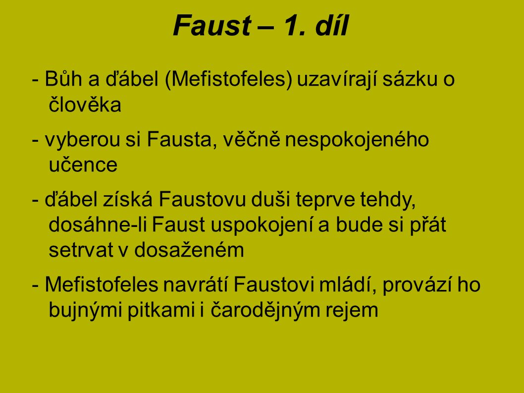 Faust – 1.