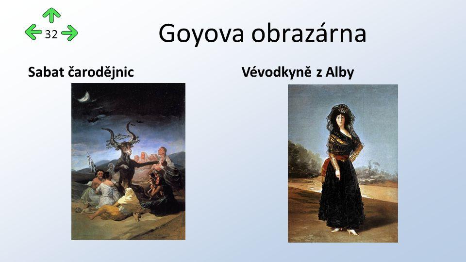 Goyova obrazárna Sabat čarodějnicVévodkyně z Alby 32