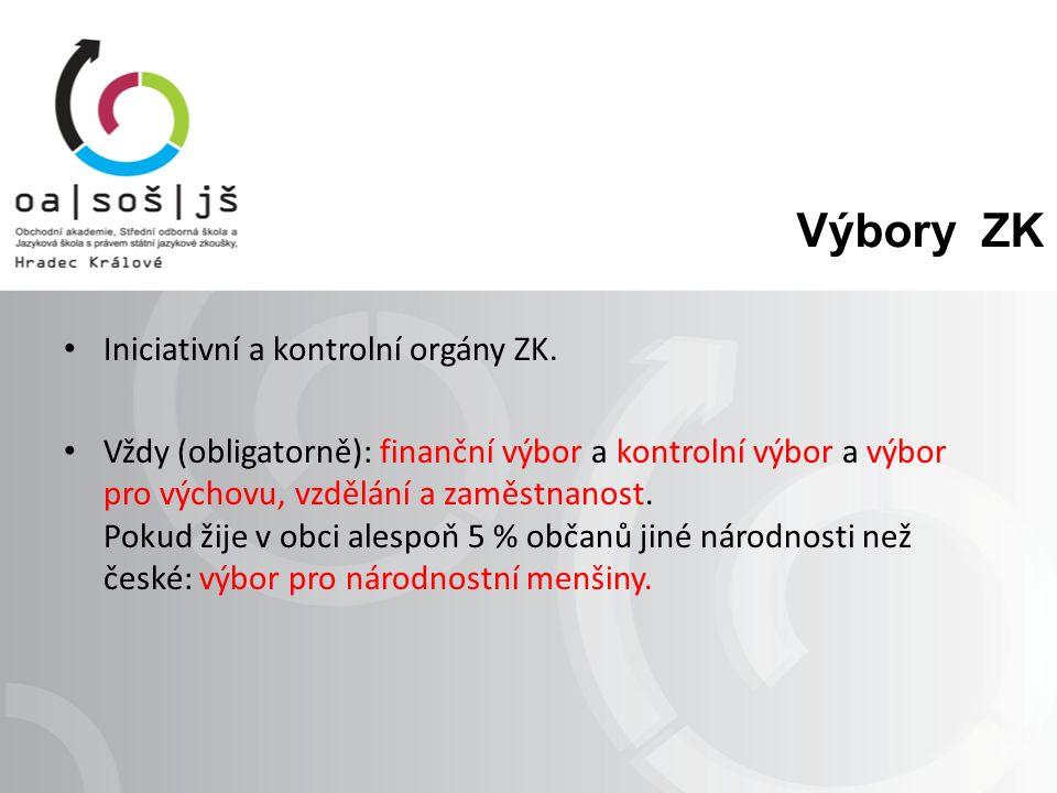 Procvičování Vysvětli aktivní a pasivní právo u voleb do ZK.