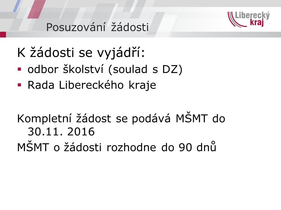 Kontakt: Mgr. Renata Rychetská tel. 485226239 renata.rychetska@kraj-lbc.cz