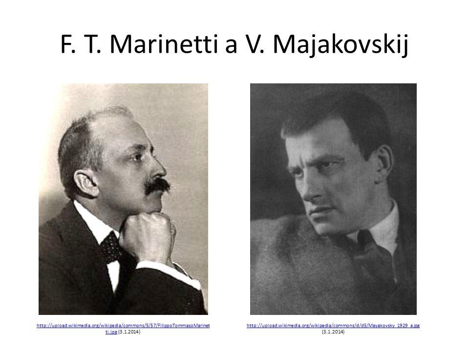 F. T. Marinetti a V.