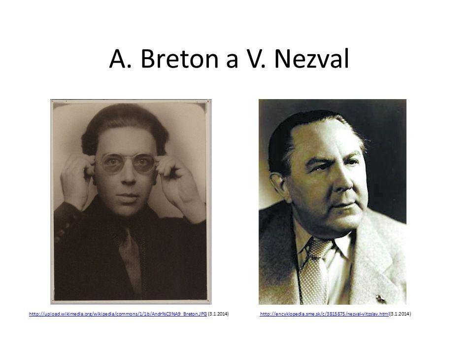 A. Breton a V.