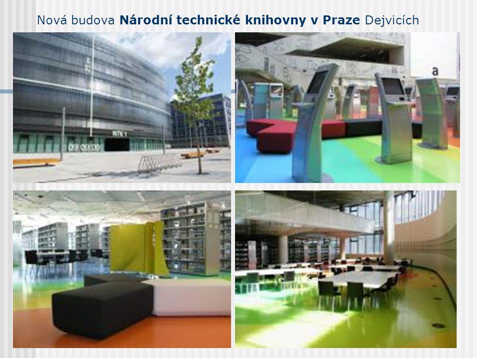Nová budova Národní technické knihovny v Praze Dejvicích