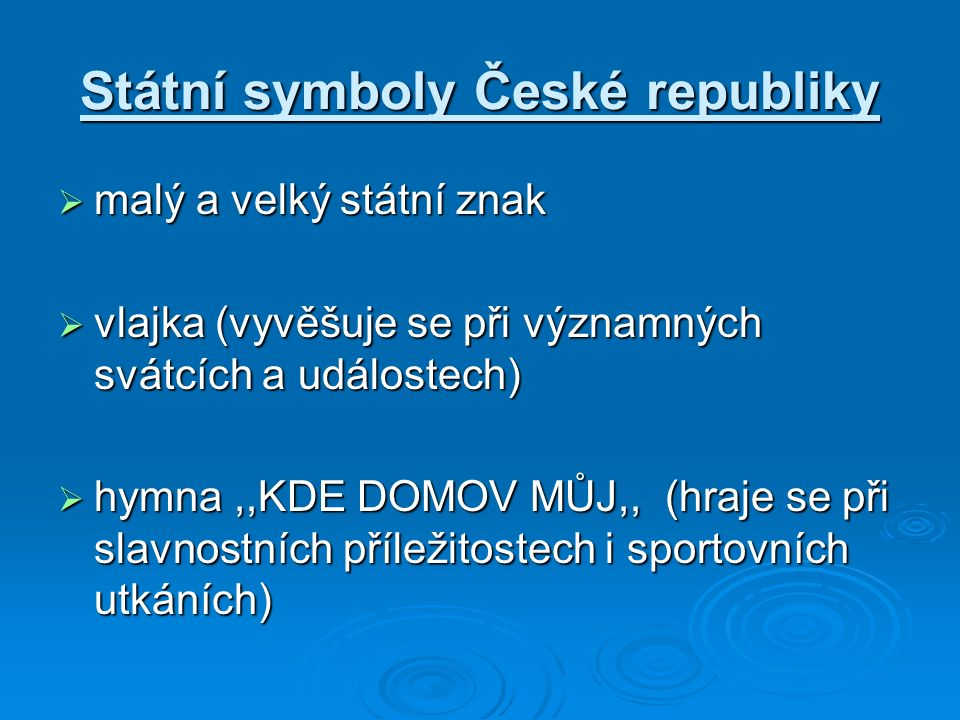 OTÁZKY  Kde sídlí prezident České republiky.na Hradě  Jaké znáš památky v Praze.