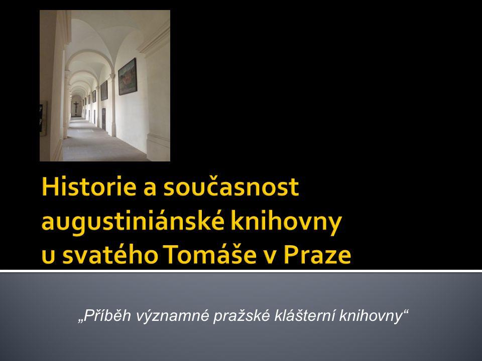 """""""Příběh významné pražské klášterní knihovny"""