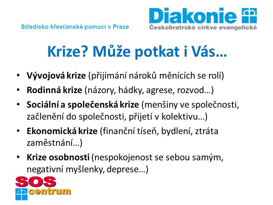 Středisko křesťanské pomoci v Praze Krize.