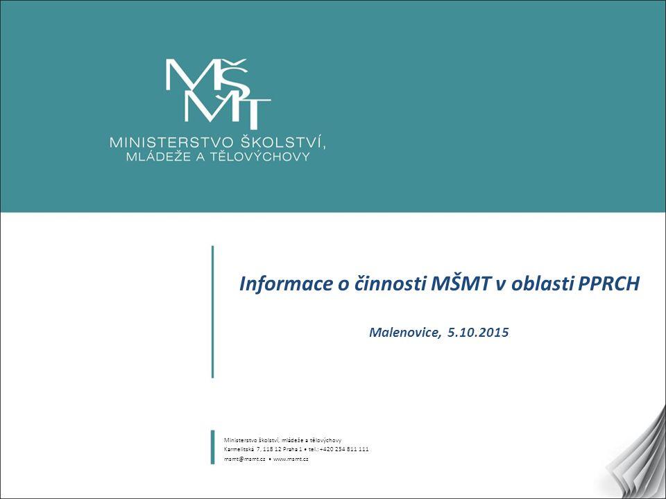 12 Aktuality Konference v Plzni Manuály pro ŠMP, MP v PPP a KŠKP Konference v Praze (9.-10.11.2015) Vynspi II.
