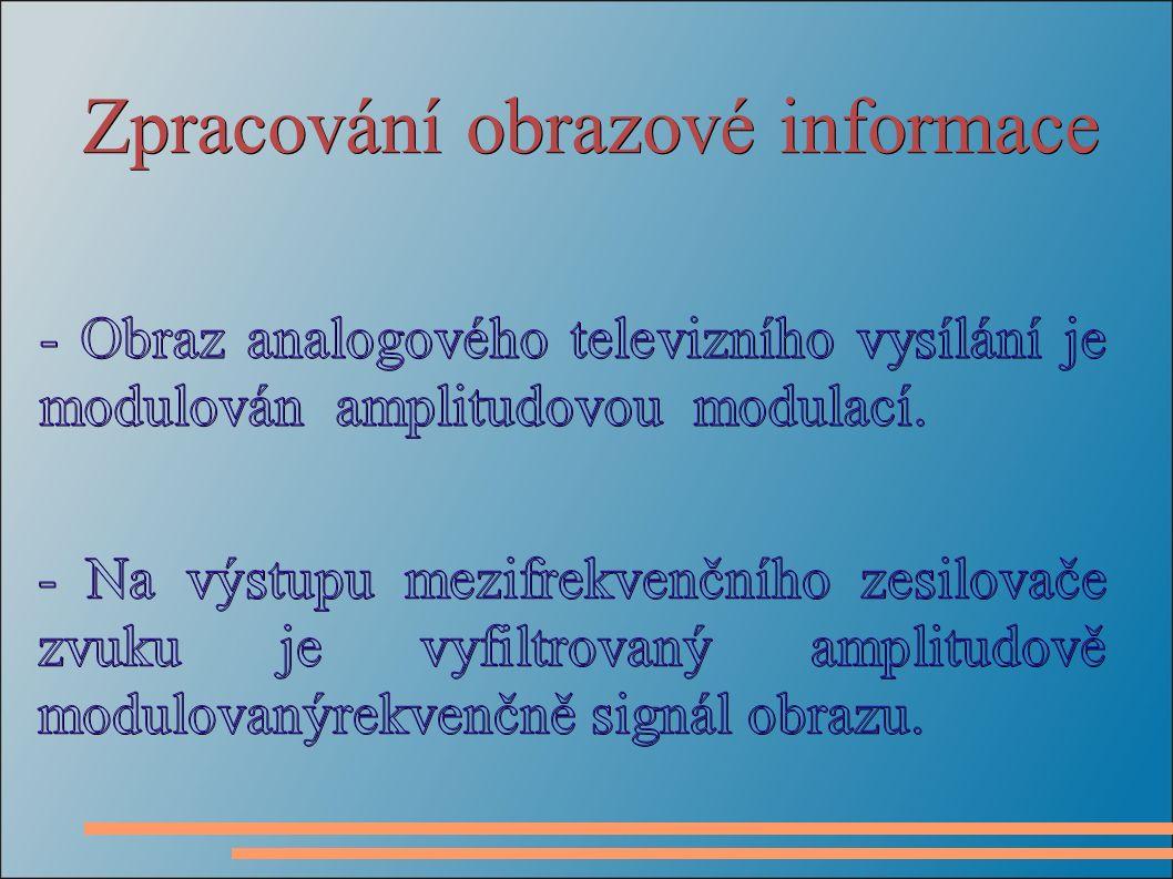 Zpracování obrazové informace