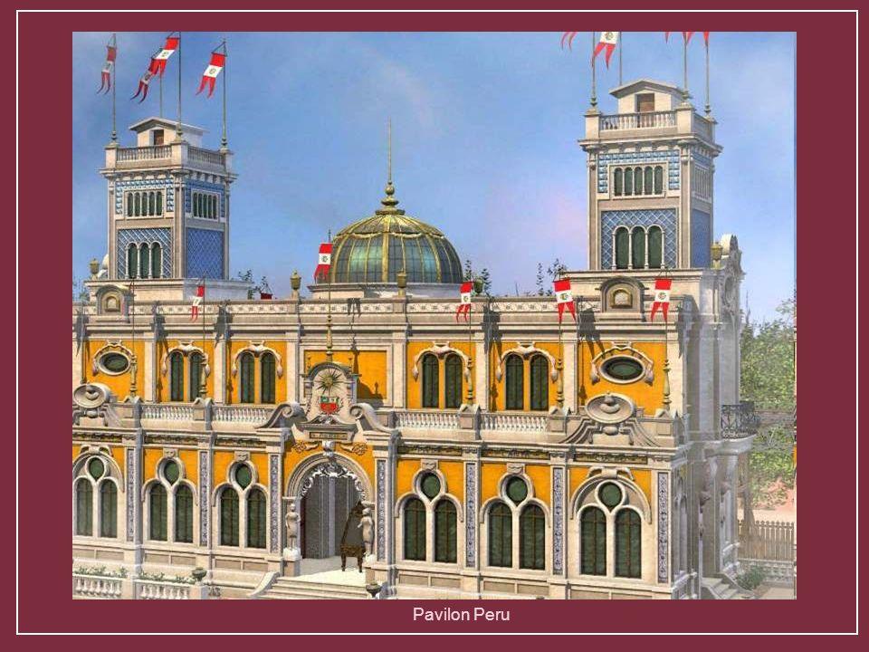 Pabellón de las indias holandesasPavilon Rumunska