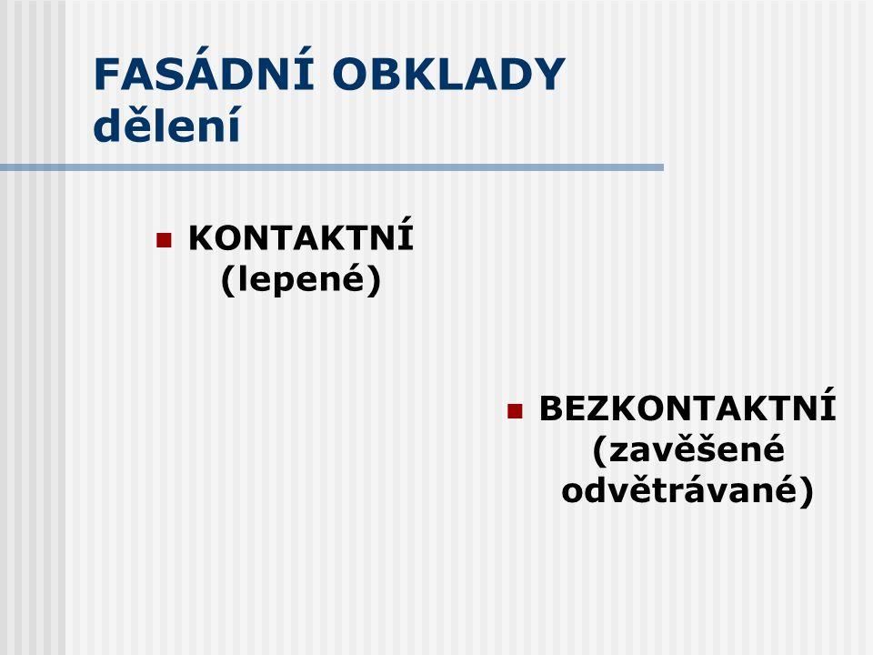 Fasádní obklady Ing. Miloslava Popenková, CSc.