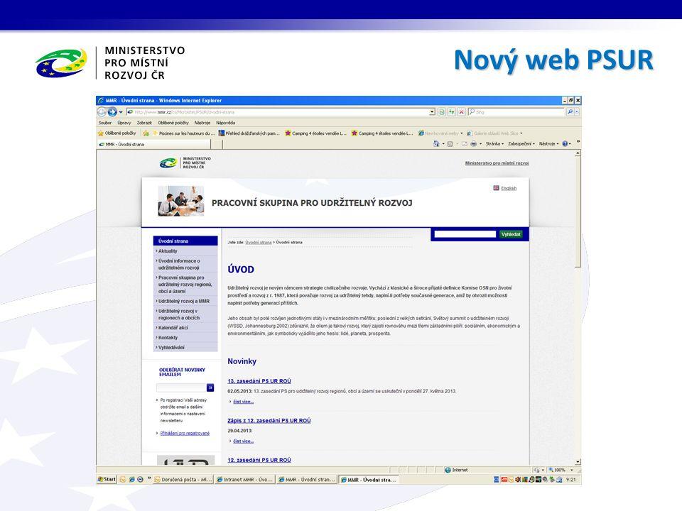 Nový web PSUR