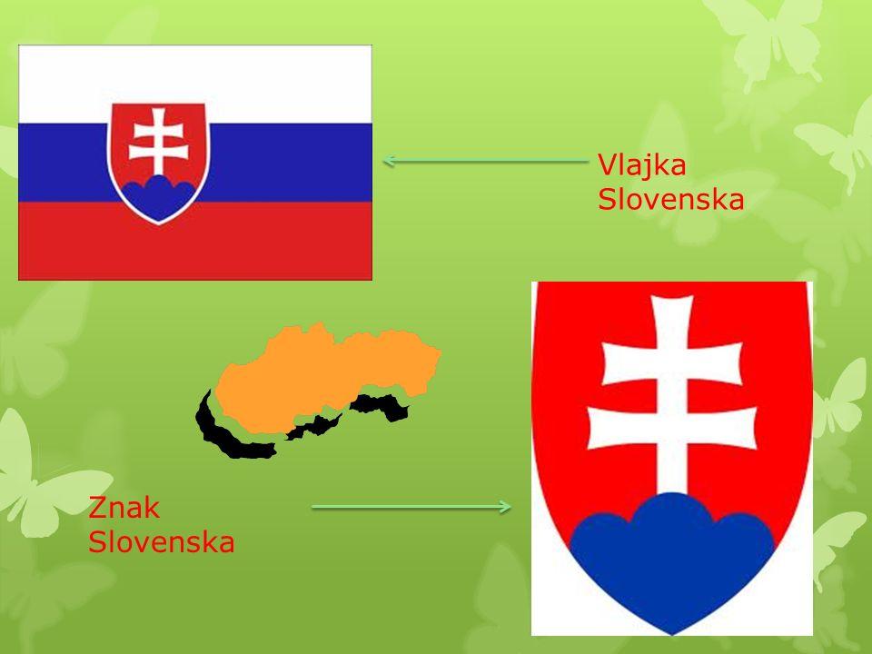 Vlajka Slovenska Znak Slovenska