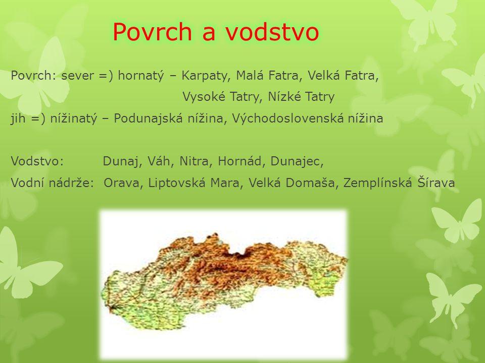 POLSKO UKRAJINA MAĎARSKO RAKOUSKO ČR Slovensko je stát ve Střední Evropě a sousedí s Rakouskem, Maďarskem,Ukrajinou, Polskem,ČR