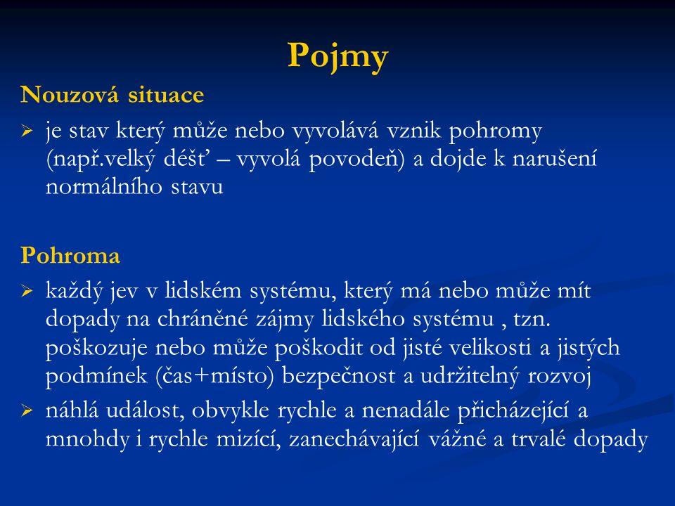 Mimořádná událost /zákon č.