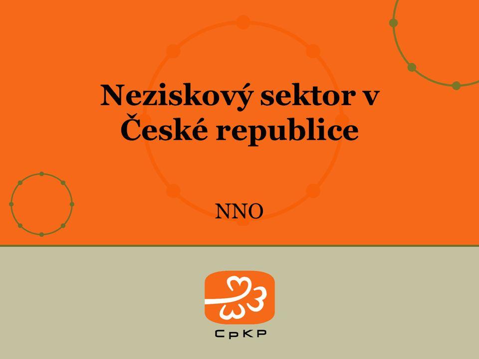 NNO Neziskový sektor v České republice
