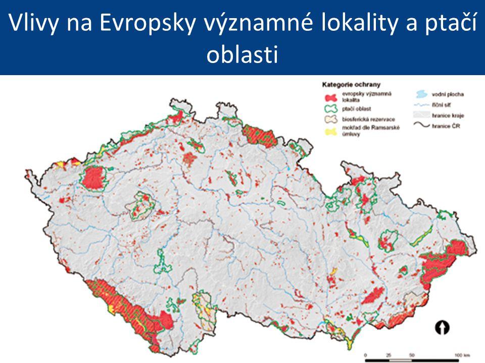 Vlivy na Evropsky významné lokality a ptačí oblasti