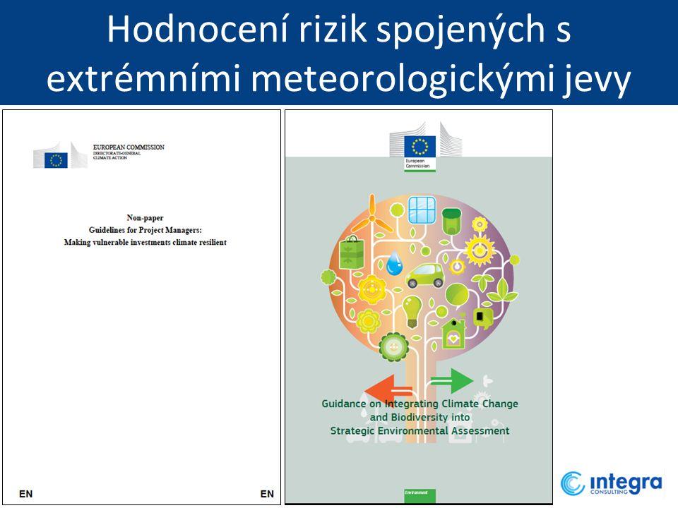 Hodnocení rizik spojených s extrémními meteorologickými jevy