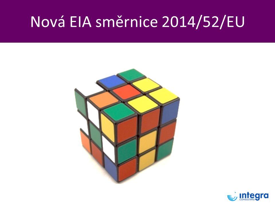 Nová EIA směrnice 2014/52/EU
