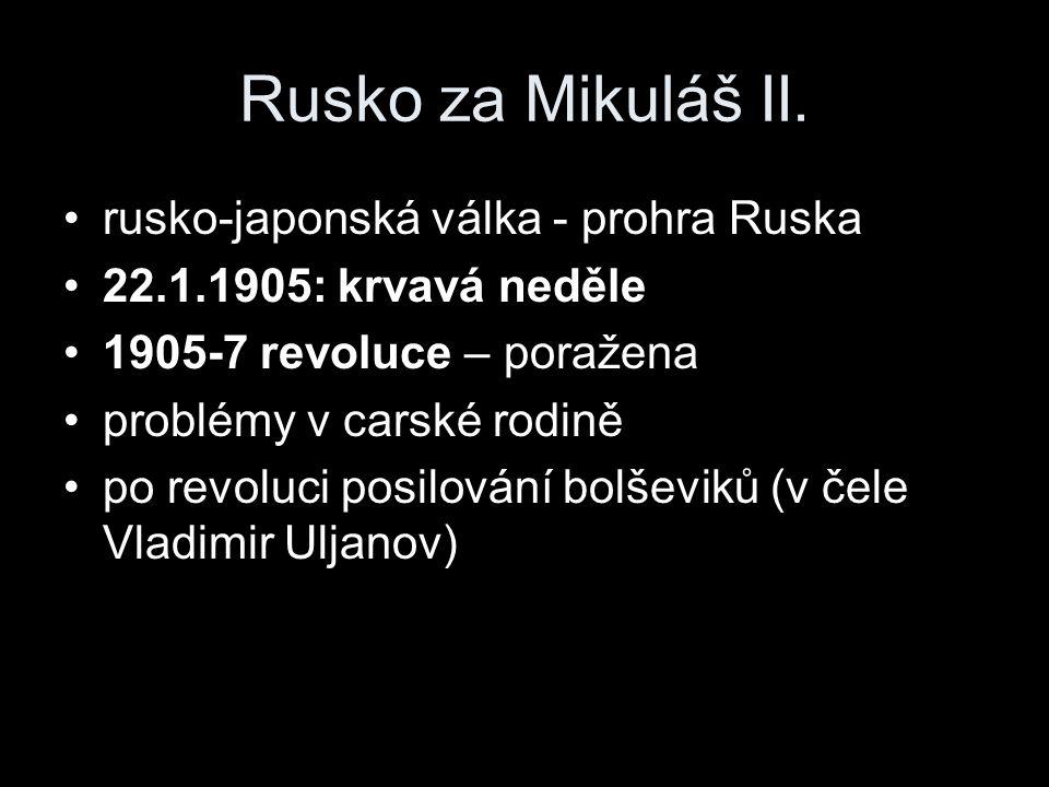 Rusko za Mikuláš II.