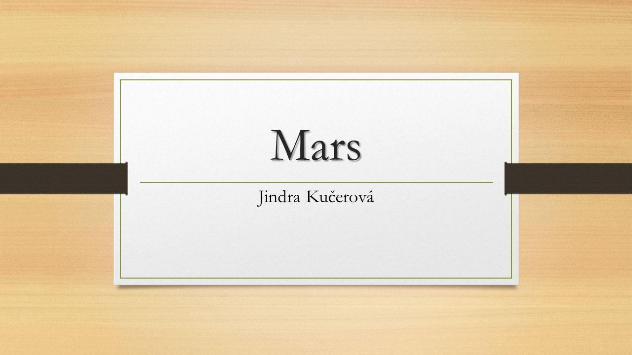 Mars Jindra Kučerová
