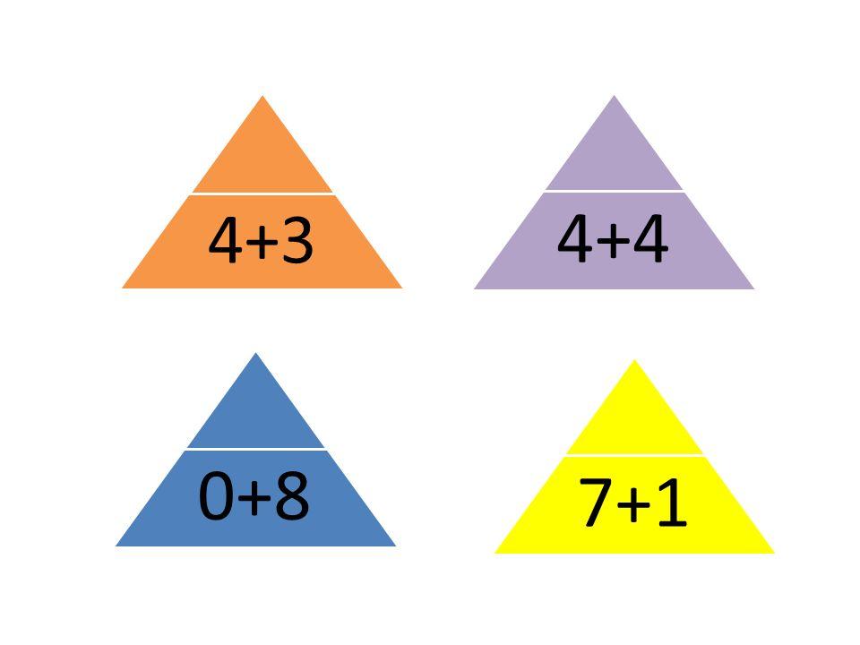 7+1 4+3 0+84+4